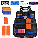 Best Guns For Kids - Kids Tactical Vest Kit Compatible with Nerf Guns Review