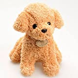 gogiil 20CM Cute Simulation Puppy Little Dolls Curly Teddy Dogs Stuffed Pet Soft Anime Toys For Children Decor Collection Brinquedos