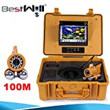 Hd underwater video fishing system CR110-7A 006A 100M