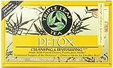 Triple Leaf Tea Natural Herbal Tea, Detox 20 bags (Pack of 2)