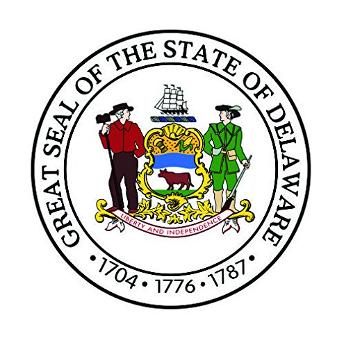 Delaware State Seal Vinyl Decals Bumper Stickers United States