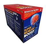 Super Memory Boost Packets 30 Day Supply, Healthy Brain Supplement for Added Attention, Focus and Cognitive Function