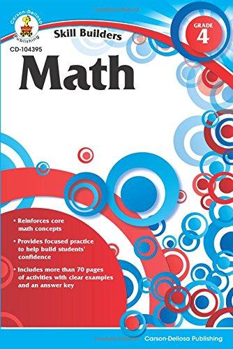 Math, Grade 4 (Skill Builders)