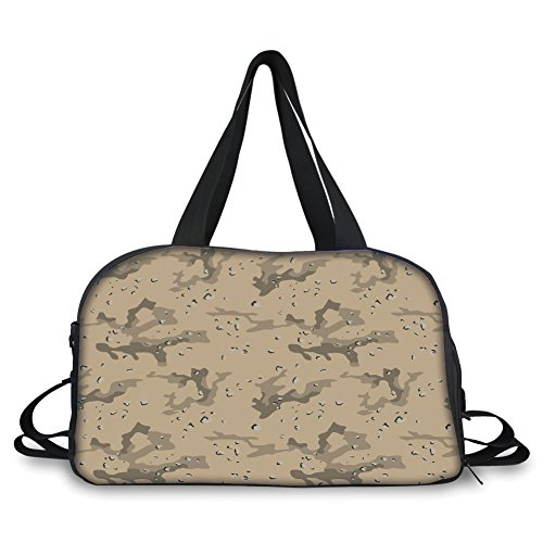 iPrint Travelling bag,Camo,US Armed Forces Background Hiding