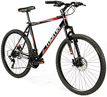 Moma Bikes Bicicleta Montaña FOX 26