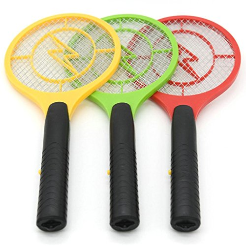Housekeeping Furniture (BananA_Light 5th battery electric mosquito swatter Electric mosquito swatter Insect Mosquito killer Housekeeping Pest control Handheld insects Bug Zapper Killer Rackets Mosquito fly (random))
