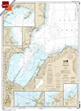 NOAA Chart 14863: Saginaw Bay; Port Austin Harbor; Caseville Harbor 21.00 x 28.56 (SMALL FORMAT WATERPROOF) offers