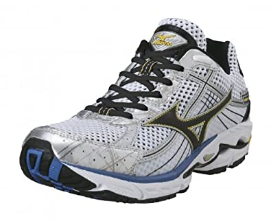 0eae29d0f355 Amazon.com | Mizuno Wave Rider 15 Running Shoes - 14 - White | Running