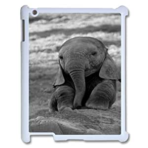 Lonely Elephant Popular Case for Ipad 2,3,4, Hot Sale Lonely Elephant Case