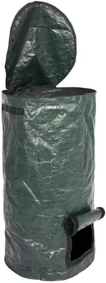 1PC Compost Bag for Garden Composter Bin PE Environmental Homemade Organic Ferment Waste Disposal for Yard
