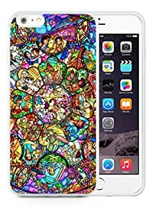 All Character Disney White Iphone 6 Plus 5.5 inches Screen TPU Phone Case Luxury and Fashion Design