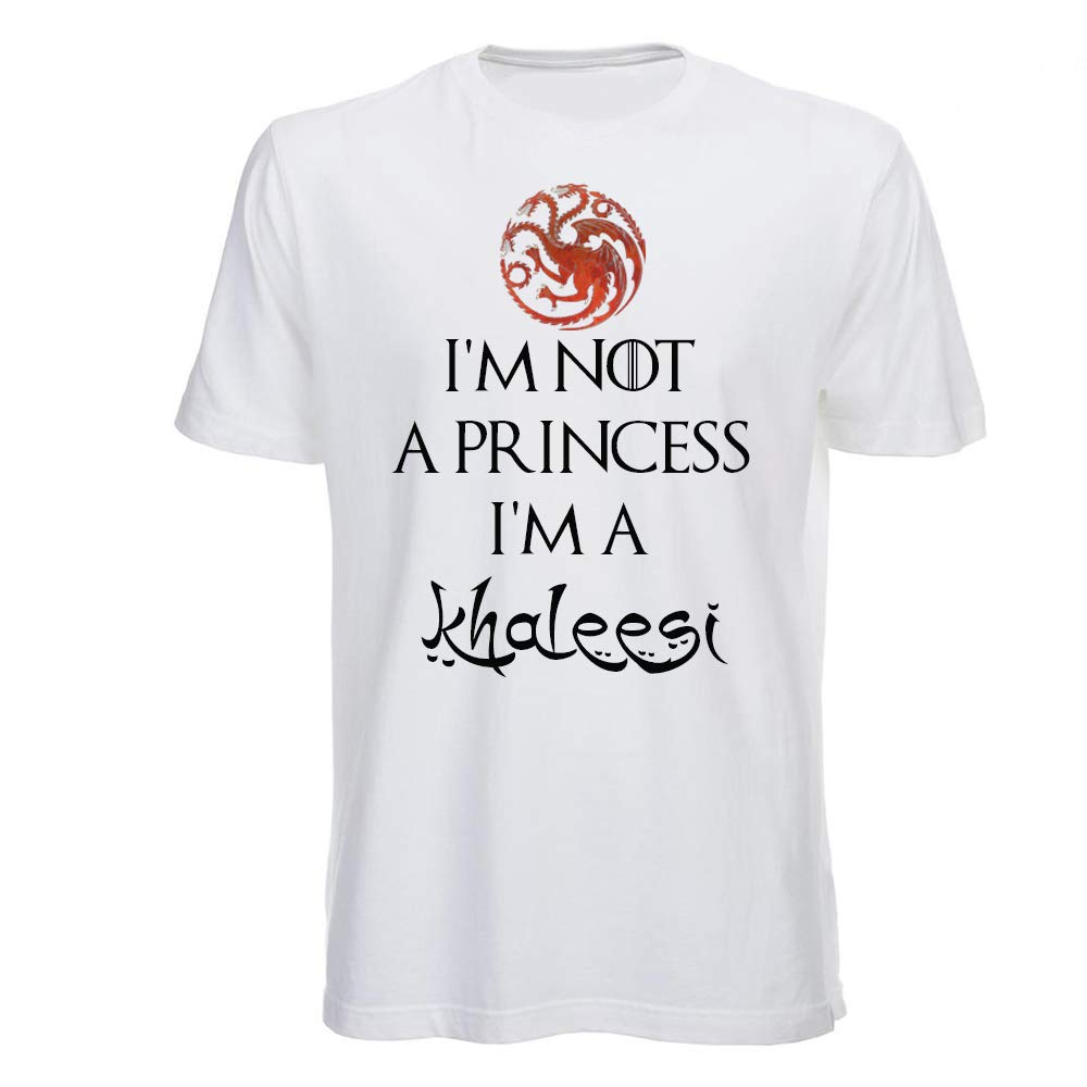 T Shirt Im Not a Princess, Daenerys, Game of Thrones, Juego de ...