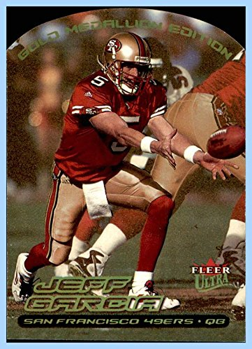 2000 Ultra Gold Medallion #213 Jeff Garcia SAN FRANCISCO 49ers SAN JOSE STATE]()