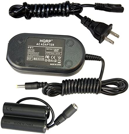 S2990 S2900 S2980 S4250 S2950 HQRP Kit AC Power Adapter and DC Coupler for Fuji Fujifilm Finepix S2800HD S4400 S4500 S4500HD Digital Camera Plus Euro Plug Adapter S4300 S3200 S4200 S2940