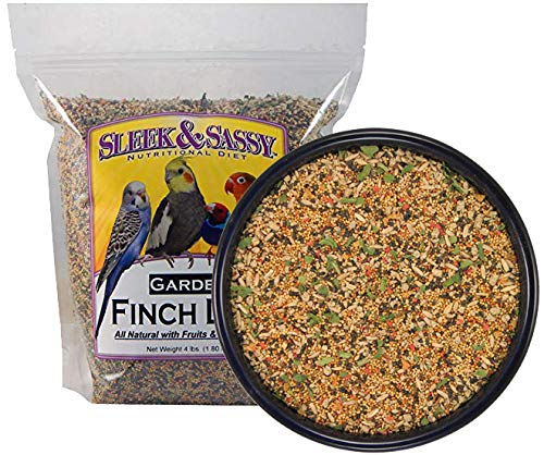 Sleek & Sassy Garden Finch Bird Food (4 lbs.)