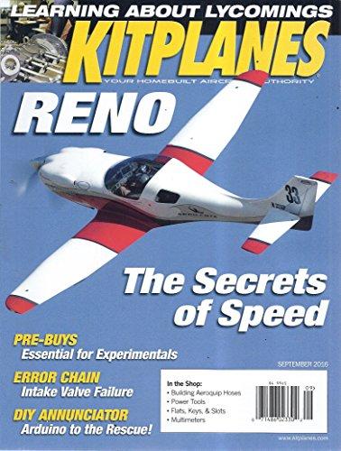 - KitPlanes Magazine (September 2016 - The Secrets Of Speed)
