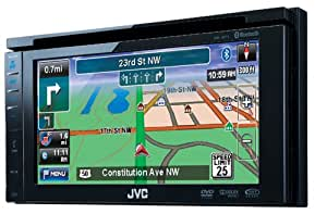 JVC KW-NT1 - Navegador GPS (( 6.1  pulgadas), Bluetooth)