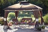Sunjoy Replacement Canopy Set for 10x12ft Healdsburg Gazebo