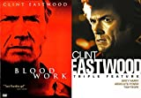 Clint Collection Eastwood Films Bloodwork + Triple Feature Dirty Harry / Tightrope / Absolute Power Movie Bundle pack