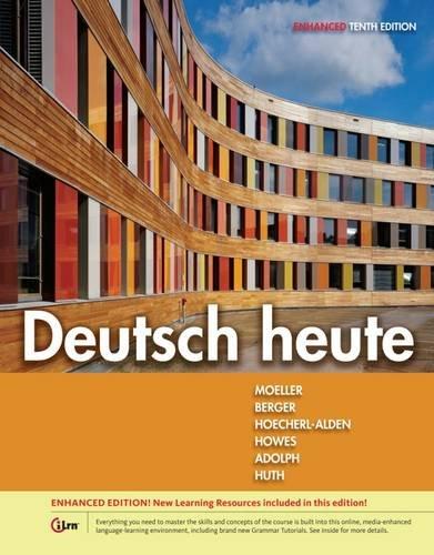 Deutsch Heute:Intro.German,Enhanced