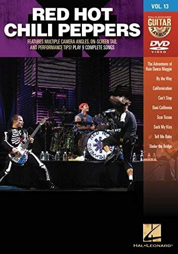 Red Hot Chili Peppers Guitar Play-Along DVD Vol 13
