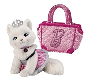 """Barbie Pets Blissa (Kitten) with Quilted """"B"""" Bag and Dress (japan import)"""