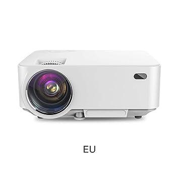 Mini proyector con proyector de vídeo de 1500 lúmenes de pantalla ...