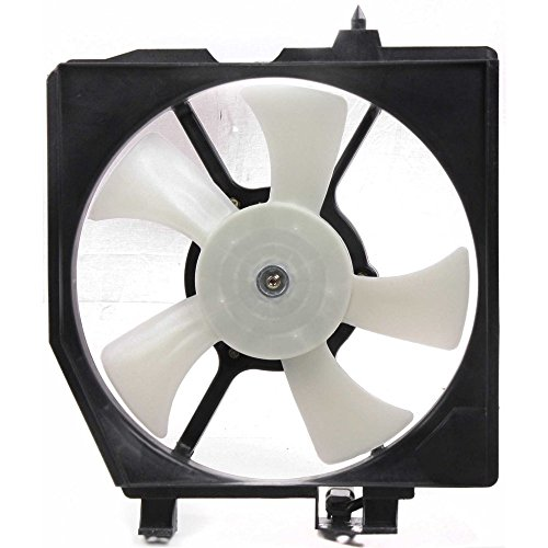 Evan-Fischer EVA24672029098 New Direct Fit A/C Condenser Fan Assembly for PROTEGE 99-00 Right Side -