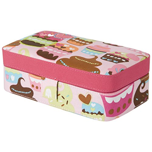 Padded Travel Jewelry Holder Cupcakes product image