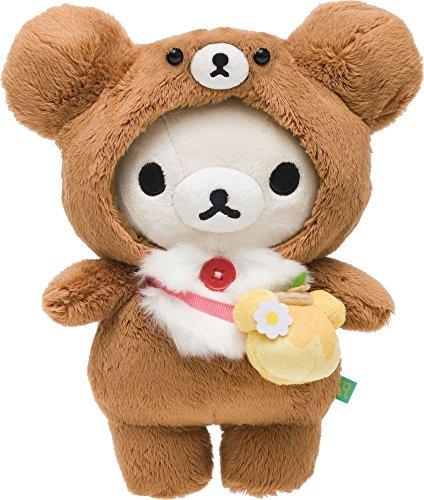 Korilakkuma Atsumete Plush With Bear Costume Rilakkuma -