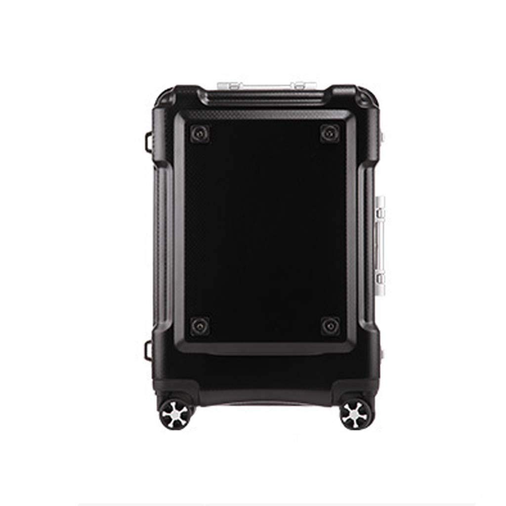 CLOUD Luggage Sets Travel Suitcase Color : Black, Size : 28 inches Male and Female Lightweight ABS Air Carrier Trolley Case Lock 4 Wheels