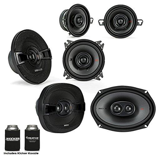 Kicker for Dodge Ram 2002-2011 speaker bundle - 2017 Model KS 6x9 speakers, KS 5.25