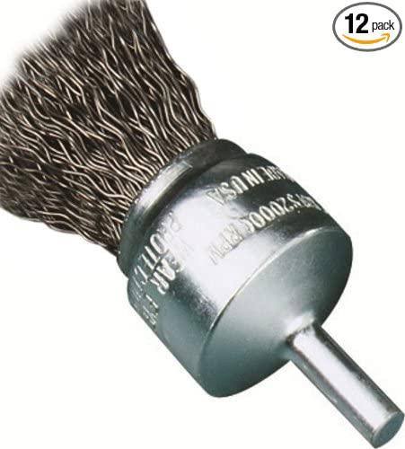 12-Pack United Abrasives-SAIT 02712 2-Inch by .014 Crimp Wire End Brush
