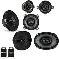 Kicker for Dodge Ram 2002-2011 speaker bundle - 2017 Model KS 6x9 speakers, KS 5.25 speakers & KS 3.5 Speakers.