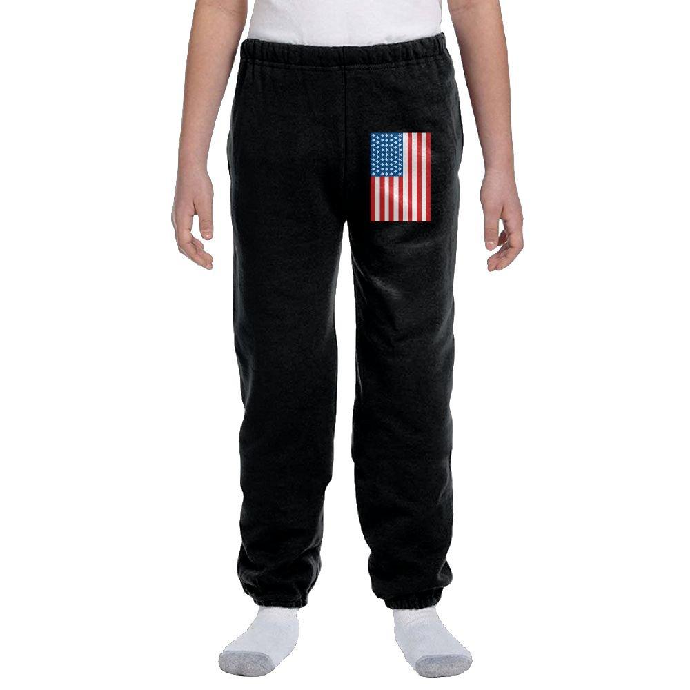LuckStarKID USA Flag Fashion Durable Unisex Sweatpants For Callan by LuckStarKID