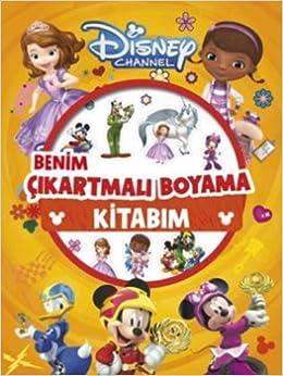 Disney Channel Benim Cikartmali Boyama Kitabim 9786050947908