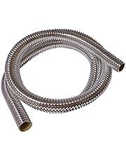 Bentley Harris ConvoShield Aluminized Nylon Wire Loom Tubing – Chrome Finish | Aluminum Wire Loom | High Temp. For Automotive Applications