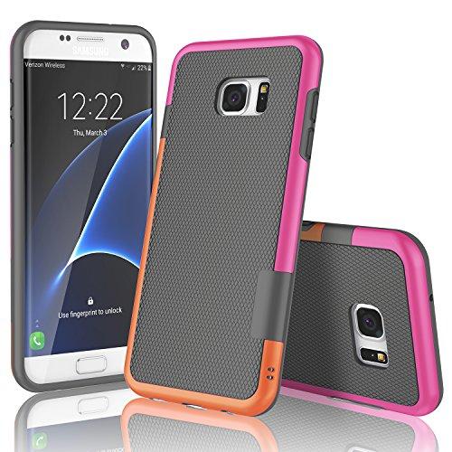TPU Neo Hybrid Case for Samsung Galaxy S7 Edge (Grey) - 2
