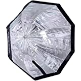 Neewer 32 inches /80 centimeters Octagon Softbox Octagonal Speedlite, Studio Flash, Speedlight Umbrella Softbox with Carrying Bag for Portrait or Product Photography.