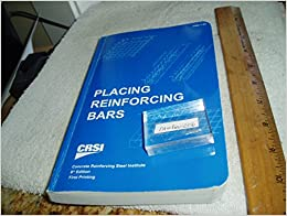 Placing reinforcing bars committee on placing reinforcing bars see all buying options fandeluxe Choice Image