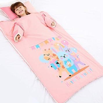 Saco de Dormir para bebés, Anti-Patada Infantil, edredón sin Sombrero de algodón 0-3 años (100 * 65 cm): Amazon.es: Hogar
