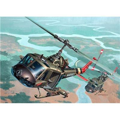 Revell Modellbausatz 04476 - Bell UH-1
