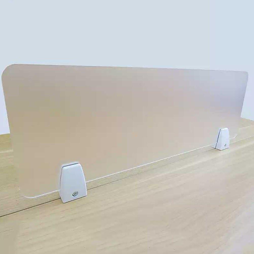 Bildschirmclip-Halter Trennwand-Trennwandhalterung Bildschirm-Trennwandclip 2 St/ück//Satz Trennwand Halterung Verdickte L/ünette Feste Klammer