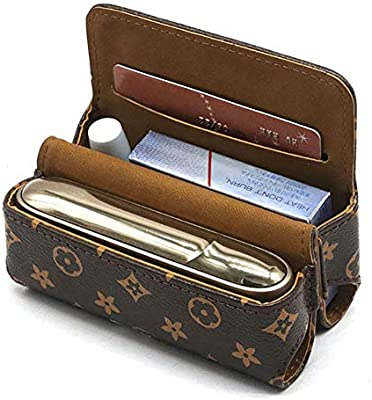 H01 DrafTor E Zigarette Tasche f/ür IQOS 3.0 Gute Qualit/ät PU Leder Zigarettenetui nur Tasche