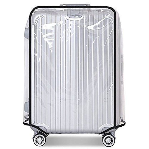 Luggage Cover 22 Inch Suitcase Cover Rolling Luggage Cover Protector Clear PVC Suitcase Cover for Carry on Luggage