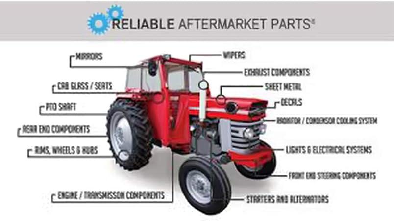 2 Gear Shift Rubber Boots for 520858M1 Massey Ferguson Tractor MF 35 135 235 240