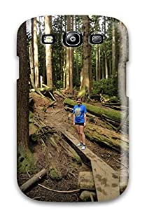 New Arrival Case Cover With OERDzYj10636eiAHB Design For Galaxy S3- Capilano Suspension Bridge Bus From Downtown