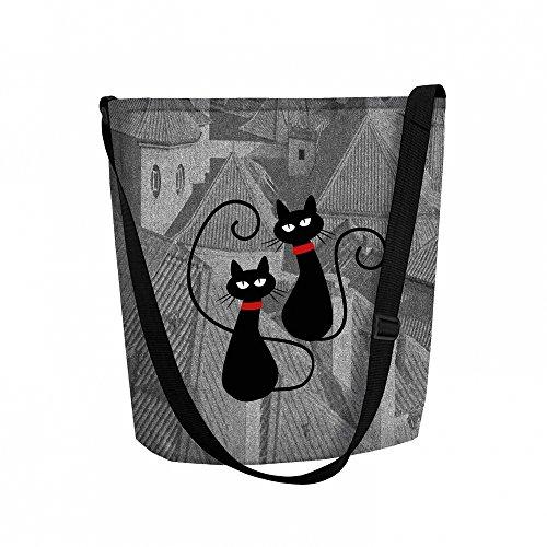 Felt Cats Cats FUNKY Dachowce Cats Cats Bag FUNKY FUNKY Dachowce Felt Bag FUNKY Dachowce Felt Dachowce Bag 4px65Ewq5c