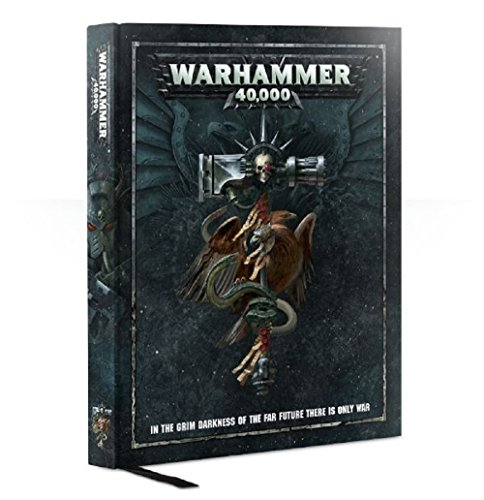 Book cover from Games Workshop Warhammer 40,000 Rulebook by Games Workshop