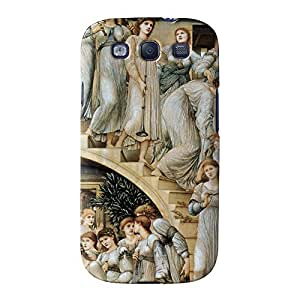 The Golden Stairs by Sir Edward Coley Burne-Jones Full Wrap High Quality 3D Printed Case, Snap-On Cover for Samsung Galaxy S3 by Painting Masterpieces